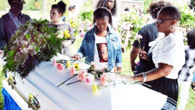 Photo of Jamyla Bolden Mourned by Family and Community at Friendly Temple