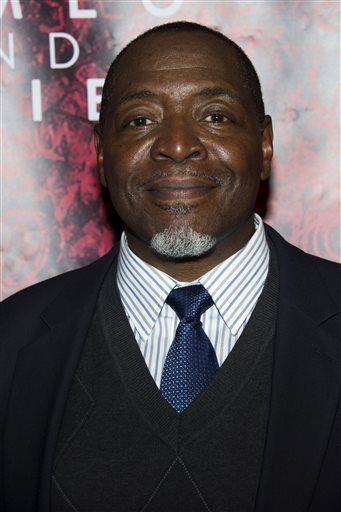 """In this Sept. 19, 2013 file photo, Chuck Cooper attends the after party for the Broadway opening of """"Romeo and Juliet"""" in New York. Cooper stars in the new musical """"Amazing Grace,"""" on Broadway. The show will close Oct. 25 after 24 previews and 114 regular performances. (Photo by Charles Sykes/Invision/AP, File)"""