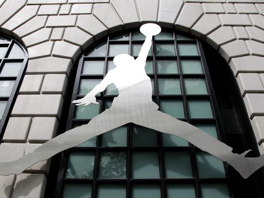 Nike's Air Jordan brand started in 1984 with shoes for Michael Jordan. (Rick Bowmer/AP Photo)