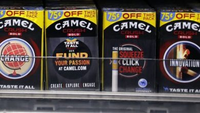 Photo of FDA Halts Sales of 4 R.J. Reynolds Cigarette Brands