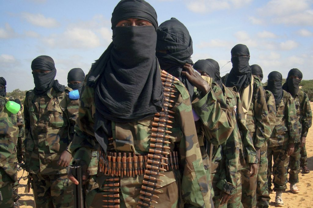Armed members of the militant group al-Shabab. (AP Photo)