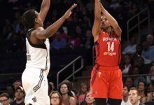 Photo of Tina Charles, Liberty Dominate Fever to Open East Finals