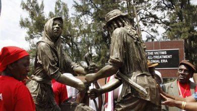 Photo of Kenya Mau Mau Memorial Funded by UK Unveiled