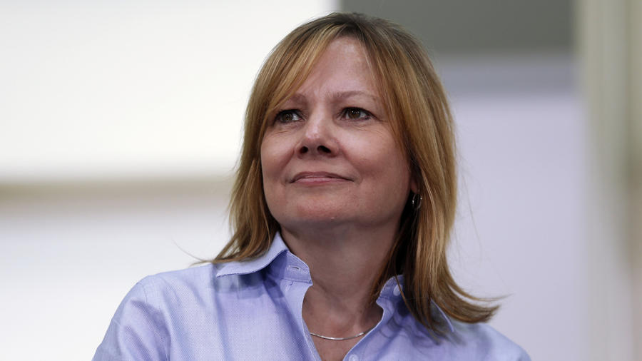 General Motors CEO Mary Barra, who has won praise for her handling of GM's ignition-switch crisis, was the highest ranked CEO in this year's Most Powerful Women list. (Paul Sancya/AP)