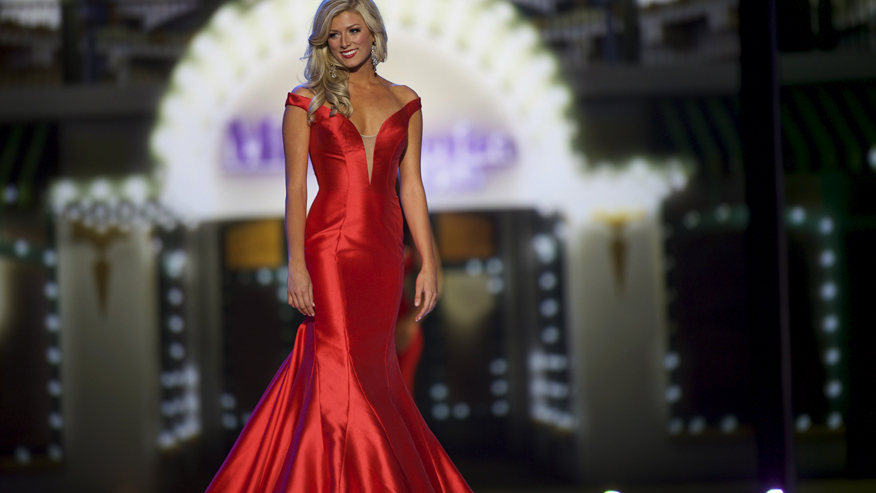 """Hosts of """"The View"""" poked fun at Miss Colorado Kelley Johnson's performance during the 2016 Miss America Pageant."""