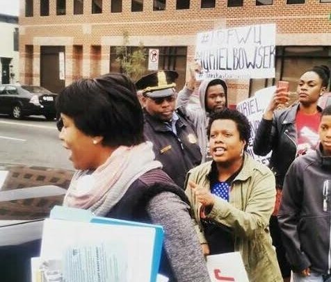 Photo of Activists Rally against Mayor's Anti-Crime Bill