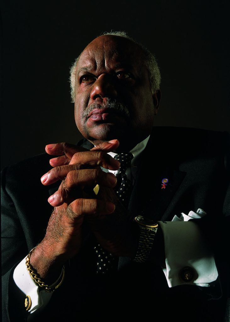 Dr. Beny J. Primm (May 28, 1928-October 16, 2015) was a pioneer in the treatment of substance abuse and HIV/AIDS. (Matthew Jordan Smith/Black AIDS Institute)