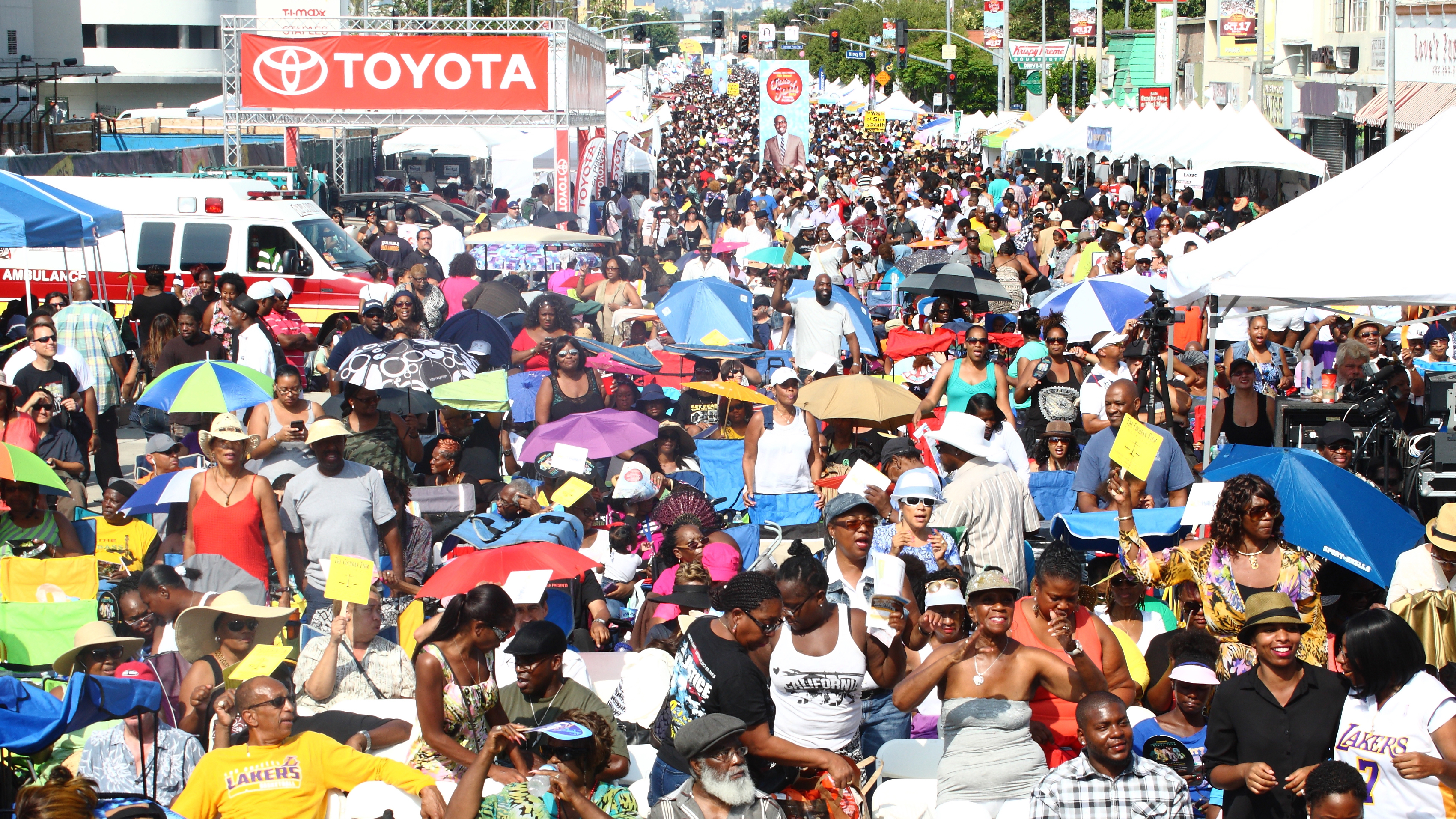 """Photo of """"Taste of Soul"""" Family Festival in Los Angeles Is a Model for the Nation"""