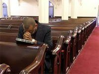 Newly lauched initiative encourages black men to come back into the church./Courtesy Photo