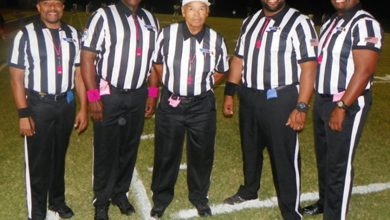 Photo of Arizona's Only All-Black Officiating Crew