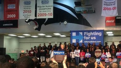 Photo of At Atlanta Rally, Clinton Calls for End to Racial Profiling and Other Criminal Justice Reforms