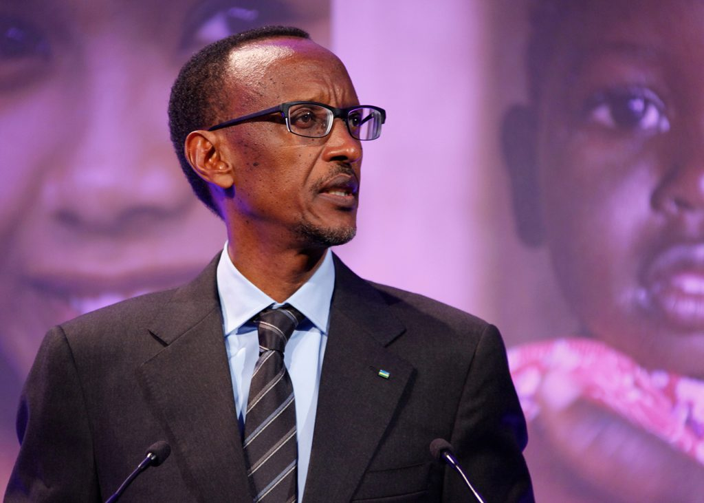A constitutional referendum may open the door for Rwandan President Paul Kagame to stay in power until 2034. This photo was taken at the London Summit on Family Planning in London on July 11, 2012. (Russell Watkins/Department for International Development/Creative Commons)