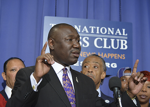 Photo of Attorney Ben Crump Talks New Book, 'Open Season: Legalized Genocide of Colored People'