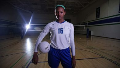 Photo of Khalia Lanier is Gatorade Volleyball POY