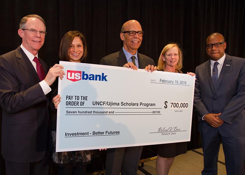 Photo of PRESS RELEASE: U.S. Bank Launches UNCF Ujima Scholars Program