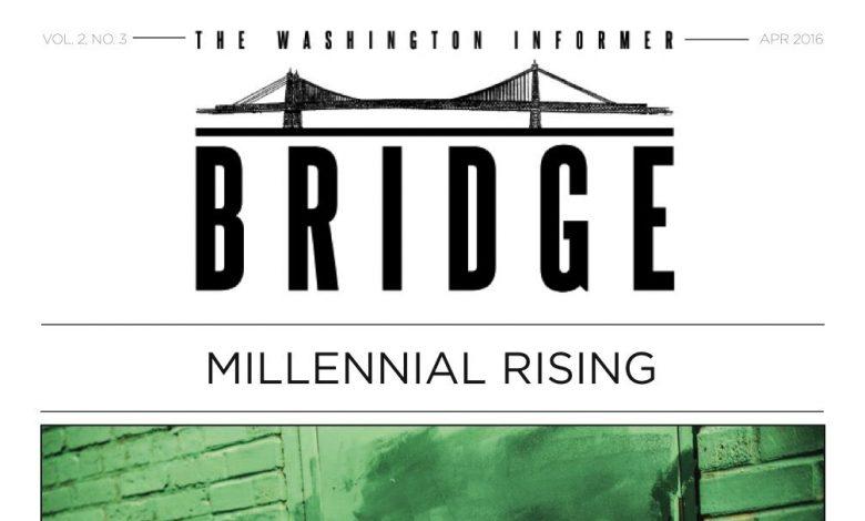 Washington Informer Bridge, April 2016