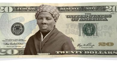 Photo of Black Caucus Members React to Tubman Replacing Jackson on the front of the $20 bill