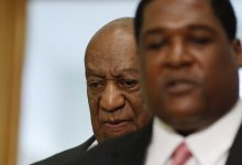 Photo of Bill Cosby in Court for Pretrial Hearing in Sex-Assault Case
