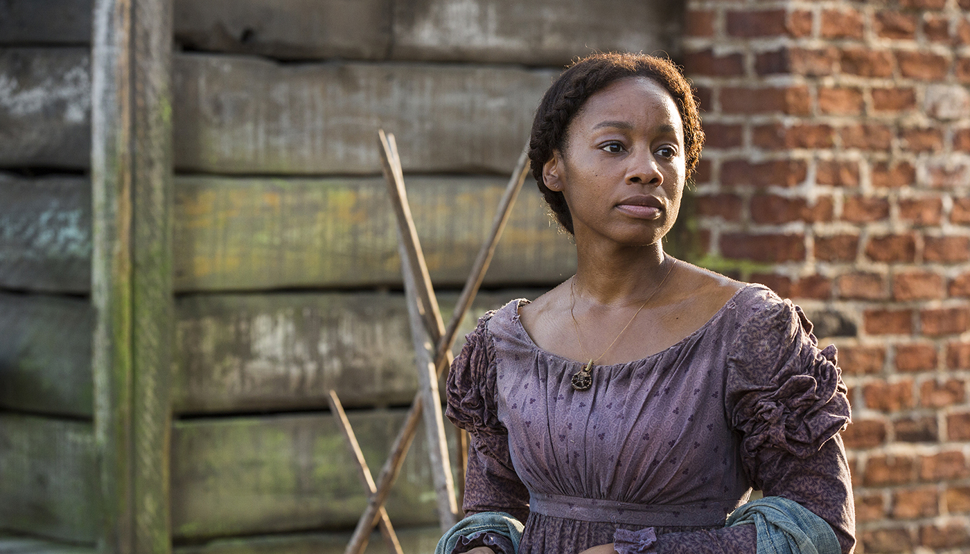 "Anika Noni Rose stars as Kizzy in the ""Roots"" remake airing on The History Channel. (The History Channel)"