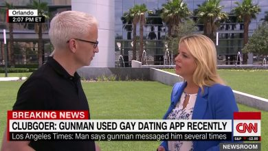 Photo of CNN's Anderson Cooper Grills Florida AG Bondi over Gay Rights Record