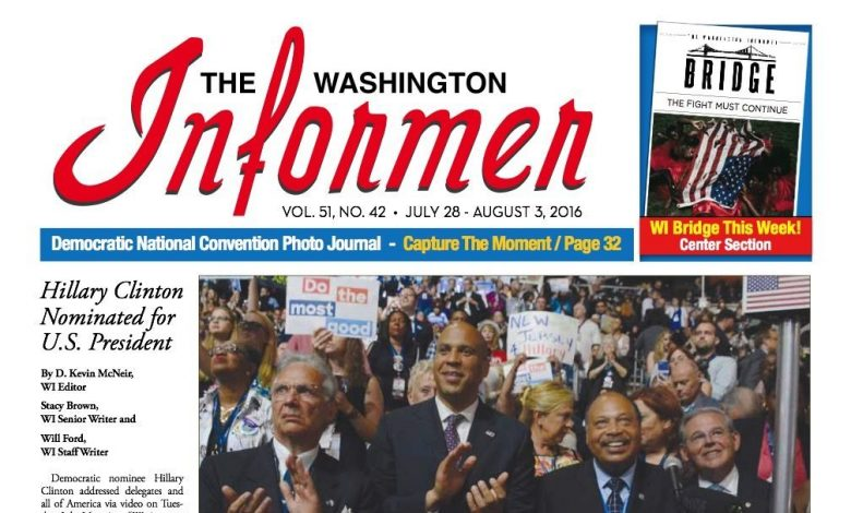 Photo of Informer Issue July 28, 2016