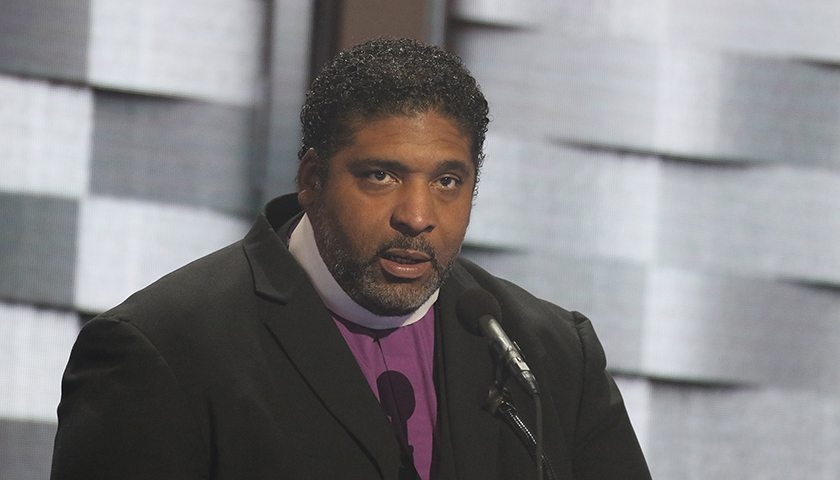 Photo of Reverend Barber Leads Moral Revolution Tour to DC