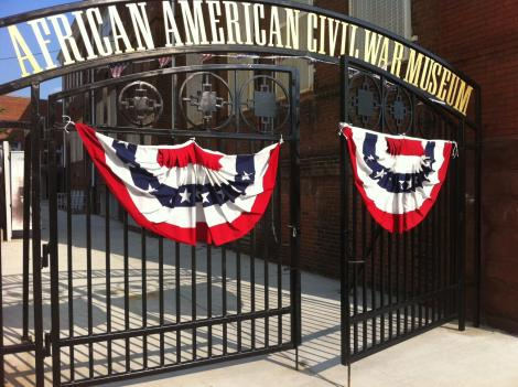 Entrance to the African American Civil War Museum /Photo: Blavity.com