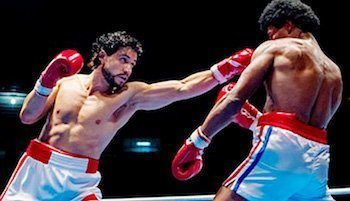 Photo of 'Hands of Stone' Scores a Knockout