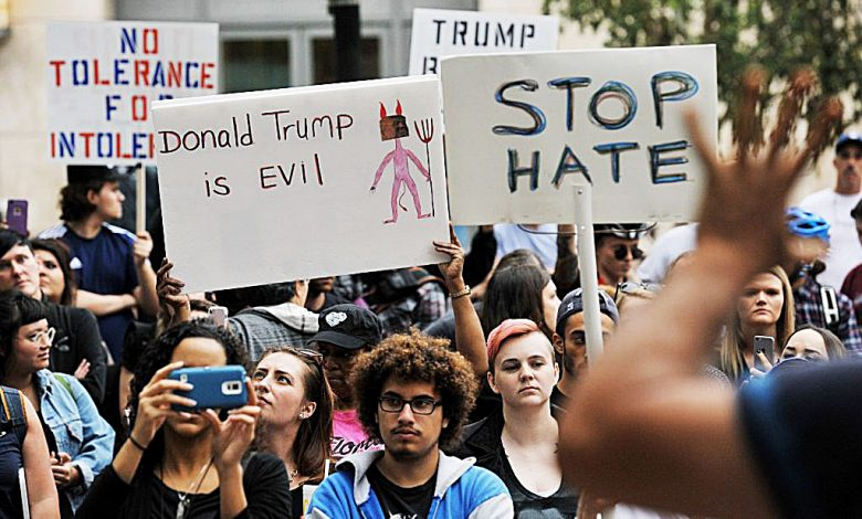 Protests continue against the election of Donald Trump, who now has appointed a reputed racist to a top White House post. /Courtesy photo