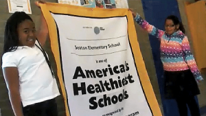 Seaton Elementary School in Northwest has been cited as one of the country's healthiest schools. /Courtesy photo