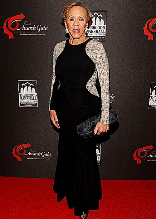 Thurgood Marshall College Fund founder M. Joyce Payne attends the organization's 27th annual awards gala at the Washington Hilton in D.C. on Nov. 16, 2015. (Photo by Paul Morigi/Getty Images for Thurgood Marshall College Fund)