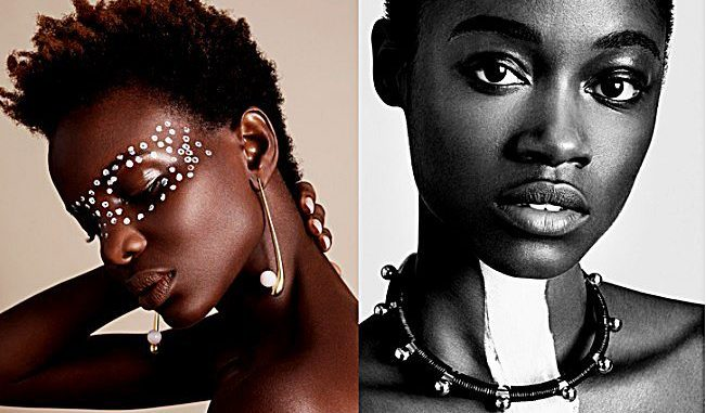 High couture jewelry inspired by African tradition /Courtesy of Maria Karas Vanity Fair