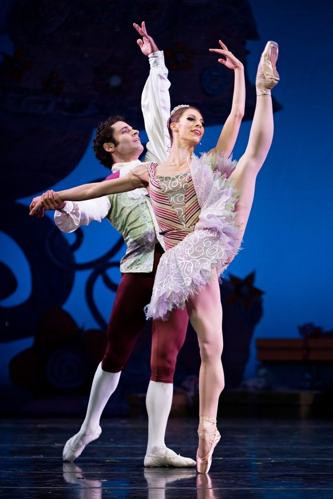 "Zack Grubbs and Courtney Connor Jones in ""The Nutcracker"" /Courtesy of Peter Mueller"