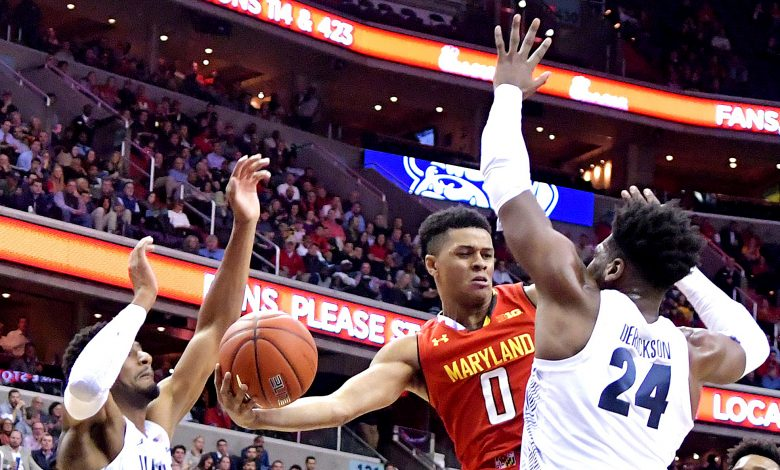 Photo of Terps Edge Hoyas in Beltway Battle