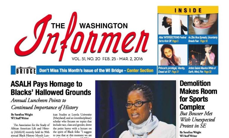 Washington Informer Digital Edition 2-25-16