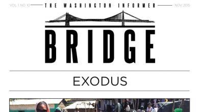 Photo of Washington Informer Bridge, November 2015