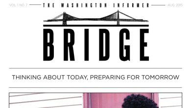 Photo of Washington Informer Bridge, August 2015
