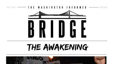 Photo of Washington Informer Bridge, February 2015