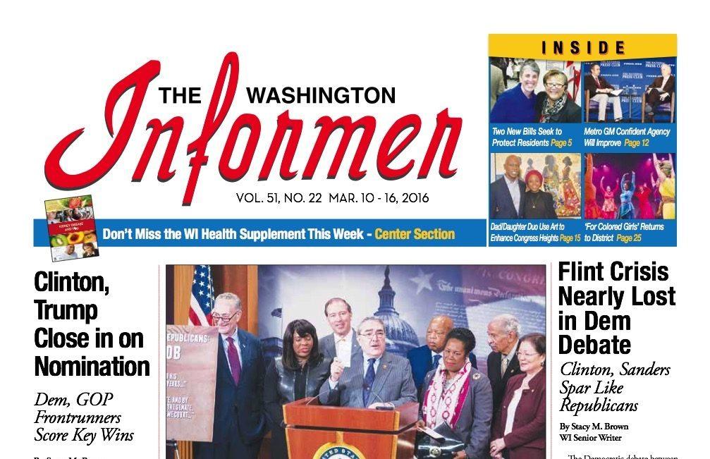 Washington Informer, March 10, 2016
