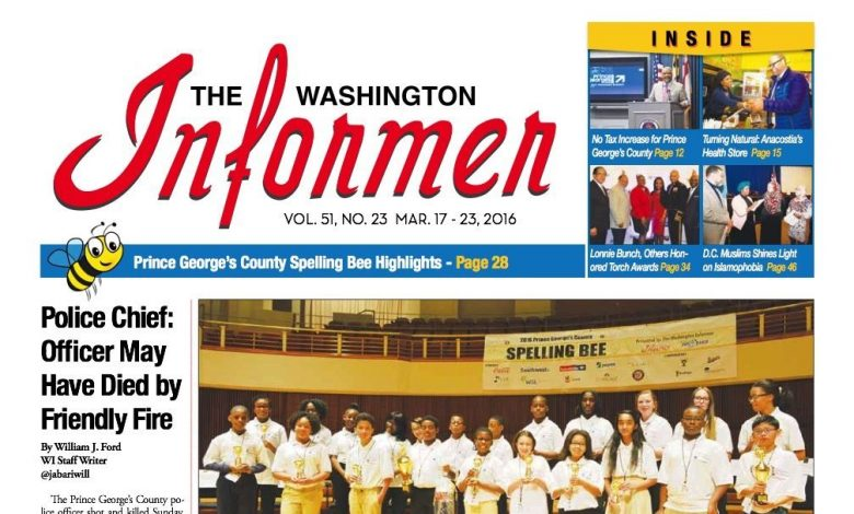 Photo of Informer Issue March 17, 2016