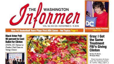 Photo of Informer Issue November 3, 2016