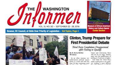 Photo of Informer Issue September 22, 2016