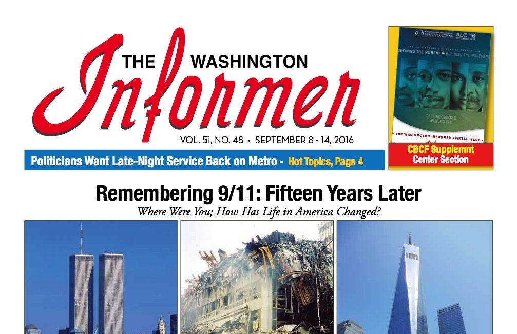 Photo of Informer Issue September 8, 2016
