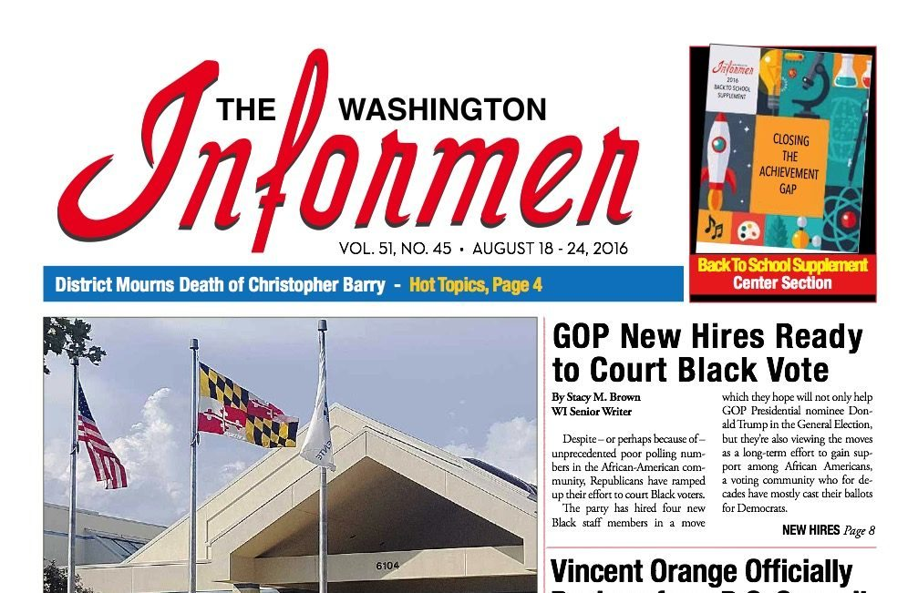 Photo of Informer Issue August 18, 2016