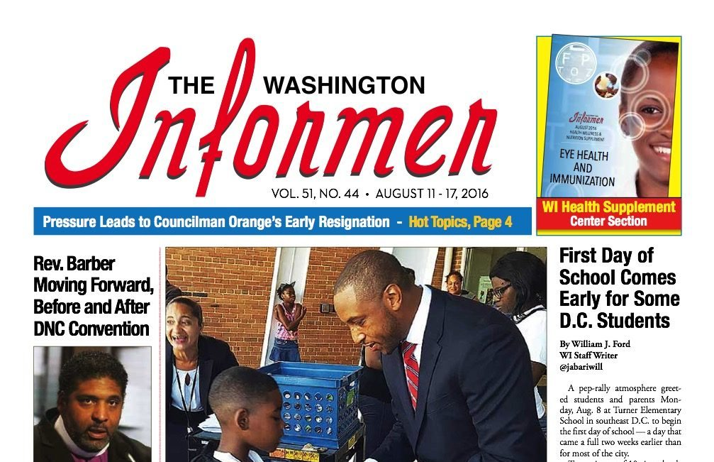 Photo of Informer Issue August 11, 2016