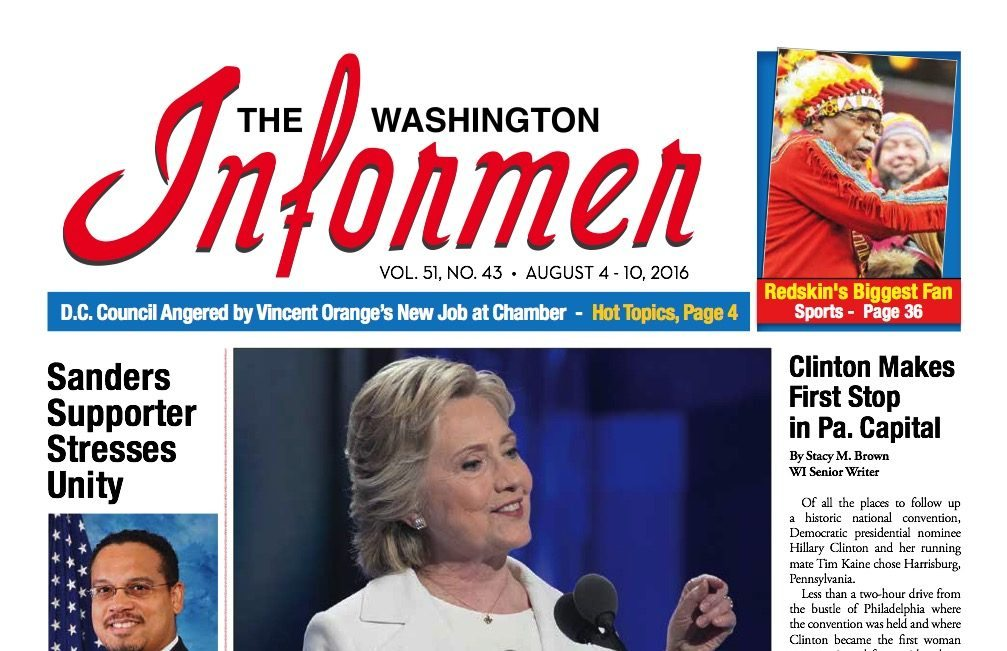 Photo of Informer Issue August 4, 2016