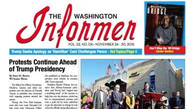 Photo of Informer Issue November 24, 2016