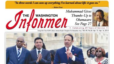 Photo of Washington Informer April 10, 2014