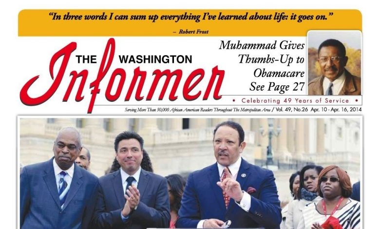 Washington Informer April 10, 2014