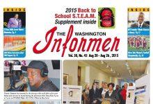 Photo of Washington Informer August 20, 2015